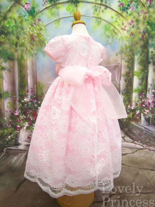 子供ドレス ブリジット ピンク