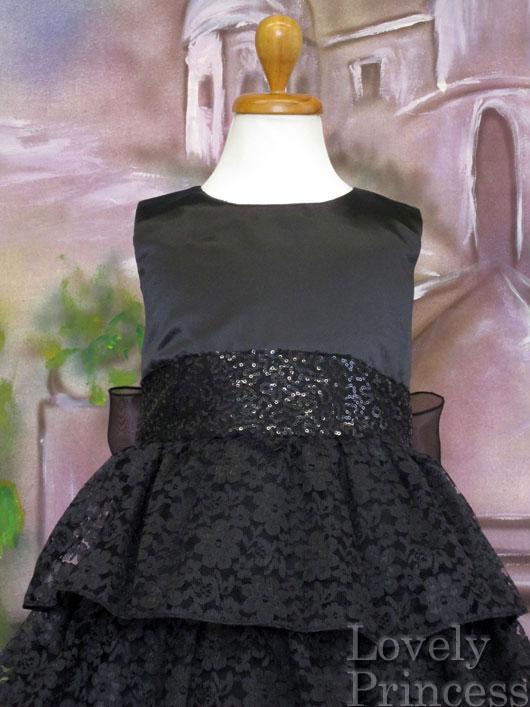 子供ドレス ミランダ ブラック