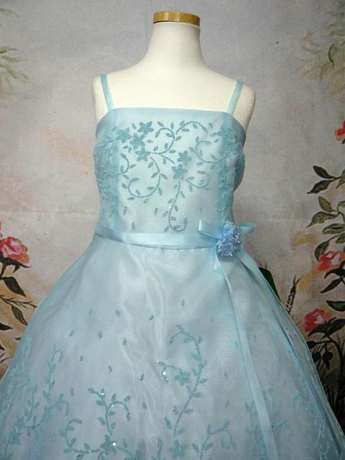 子供ドレス セシル ブルー2