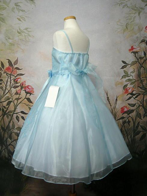 子供ドレス セシル ブルー4