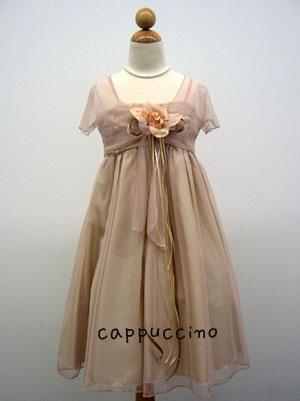子供ドレス レディ ブラウン1