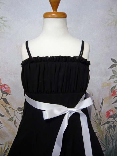子供ドレス ドルチェ ブラック