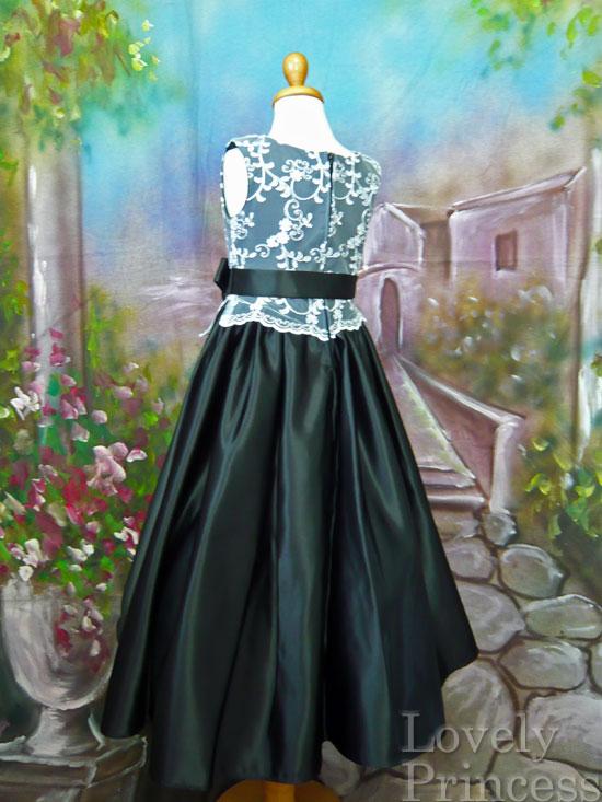 子供ドレス シンシア ブラック