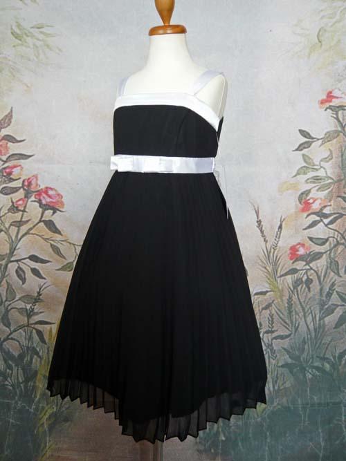 子供ドレス レイチェル ブラック