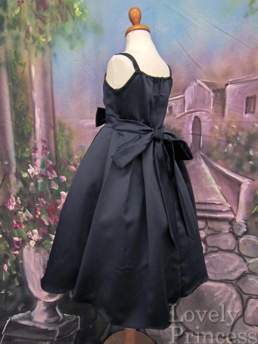子供ドレス シャーリー ネイビー