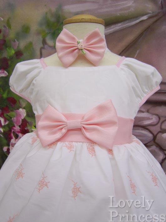 ベビードレス ララ ピンク