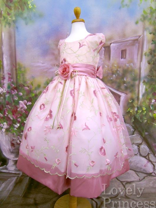 子供ドレス ダイアン ピンク