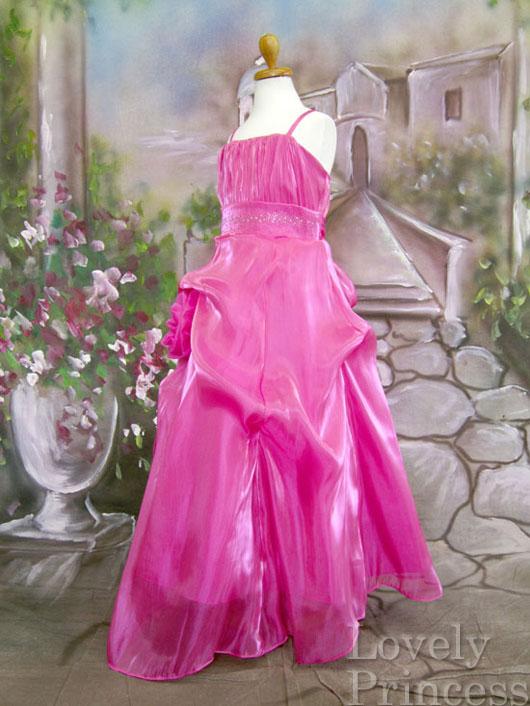 子供ドレス レオノーラ フューシャ