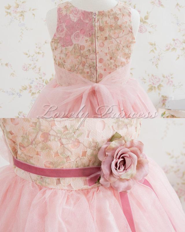 結婚式子供ドレス ユーフェミア ローズピンク