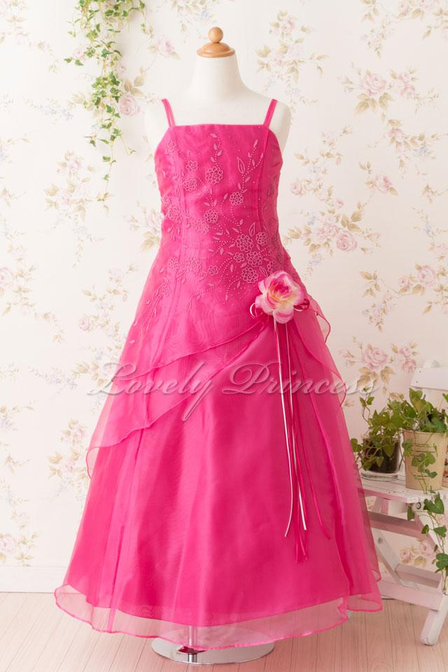 子供のドレス リンダ フューシャ