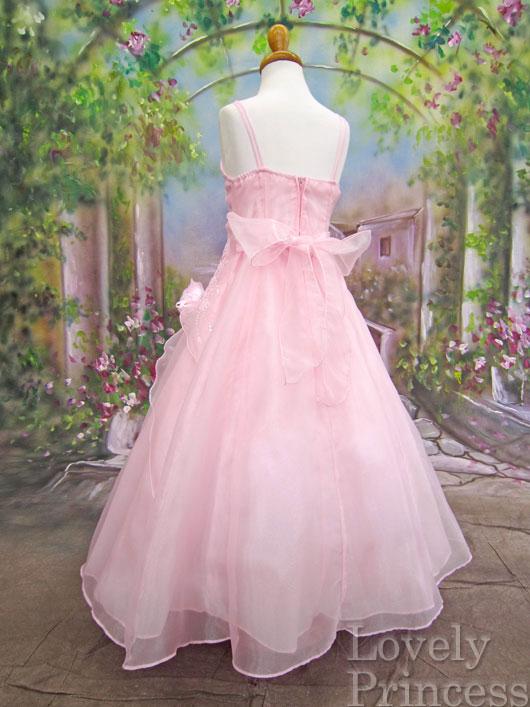 子供用ドレス リンダ ピンク