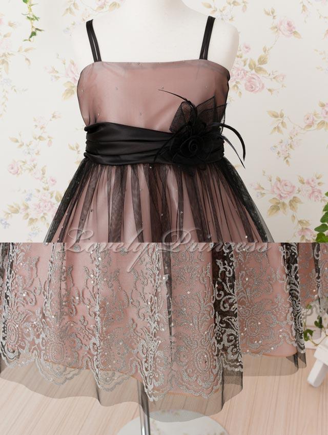 ステージ衣装子供ドレス アネット ピンク