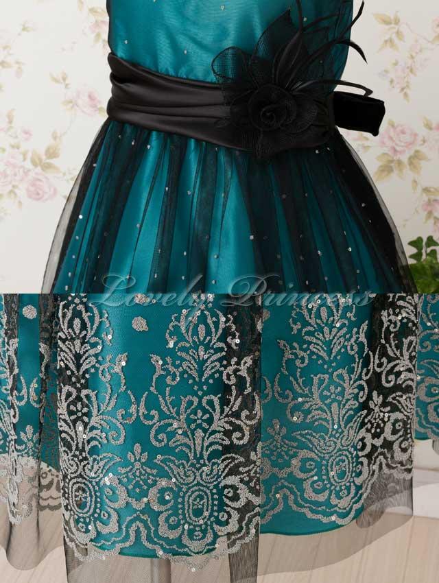 ステージ衣装子供ドレス アネット グリーン