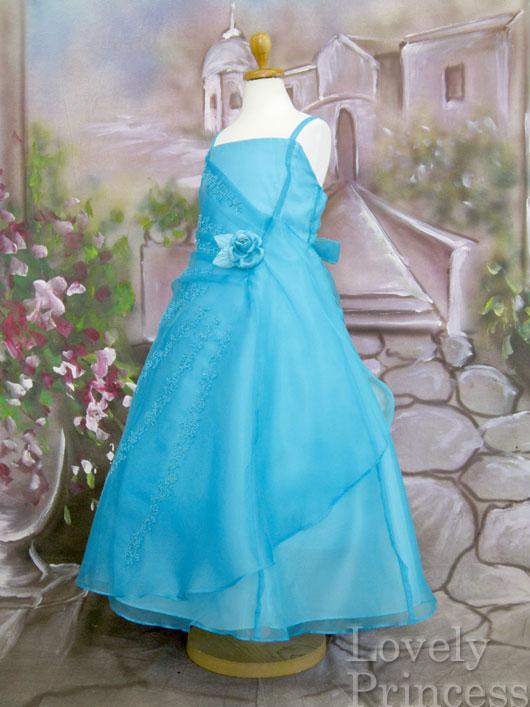 子供ドレス マーシャ アクアブルー