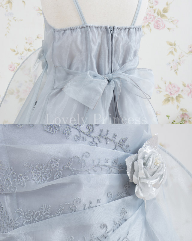 子供用ドレス マーシャ シルバー