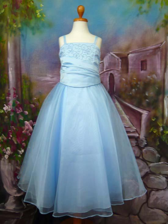 子供ドレス ジェニー ブルー