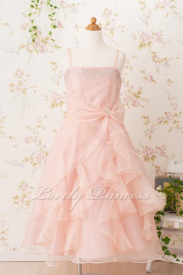 子供ドレス マドレーヌ ブラッシュピンク