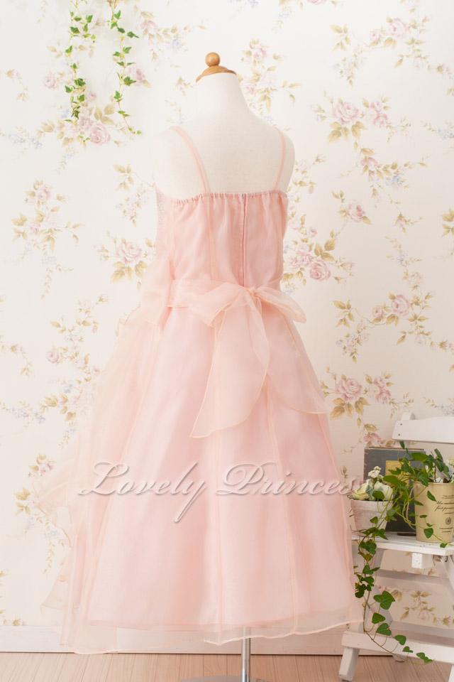 ジュニアドレス/子供ドレス マドレーヌ ブラッシュピンク