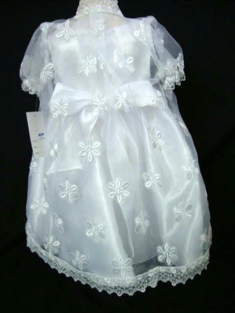 ベビードレス シェリー ホワイト3