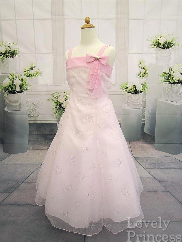 子供ドレス シンディ ピンク