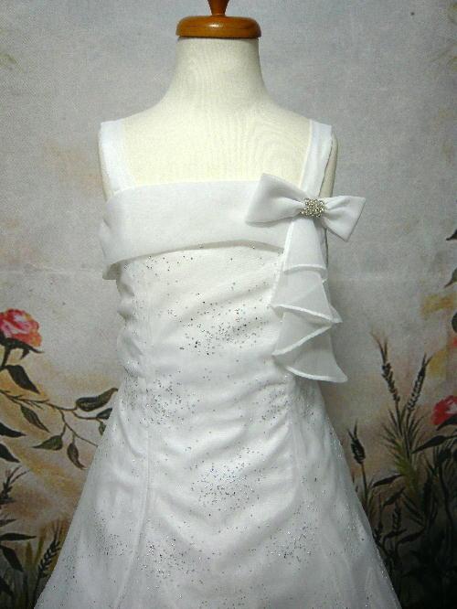 子供ドレス シンディ ホワイト