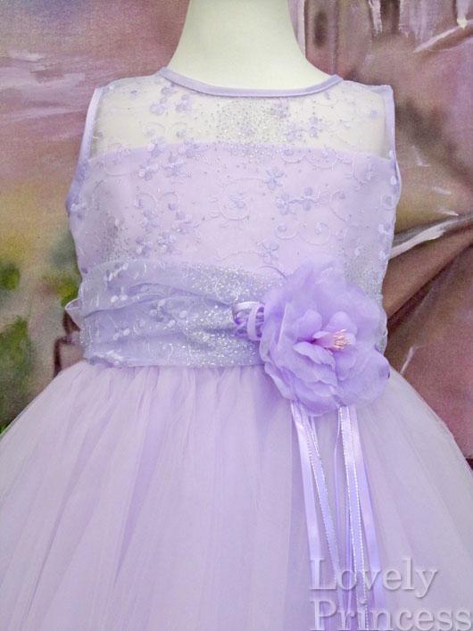 子供ドレス プリンセス ライラック