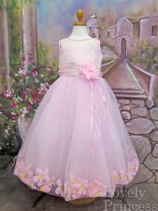 子供ドレス プリンセス ピンク