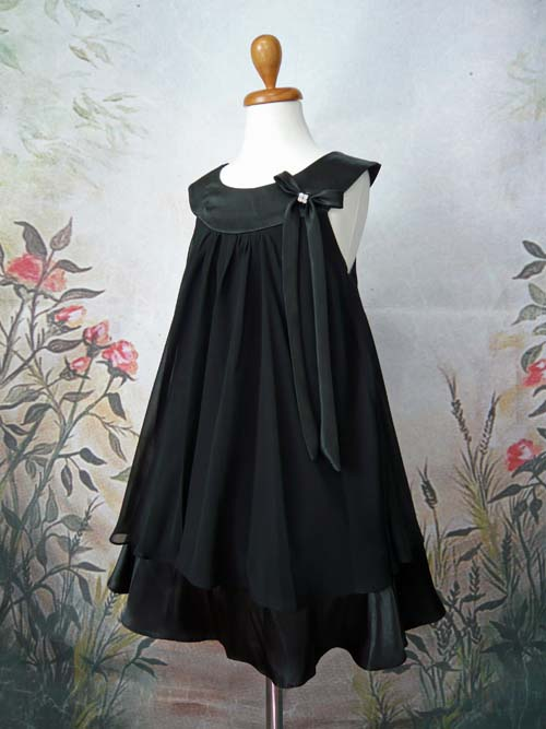 子供ドレス エリー ブラック