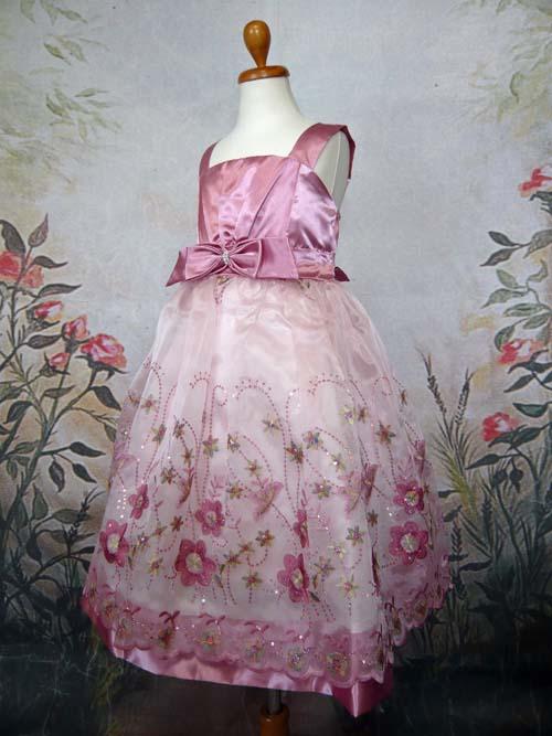 子供ドレス マリー ローズピンク