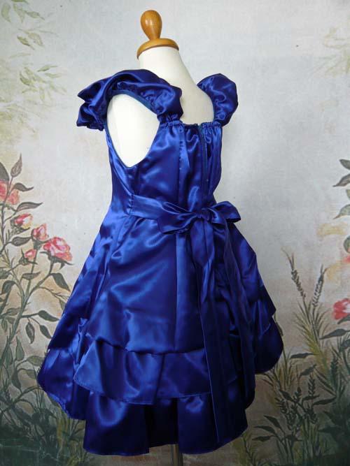 子供ドレス ベル ロイヤルブルー