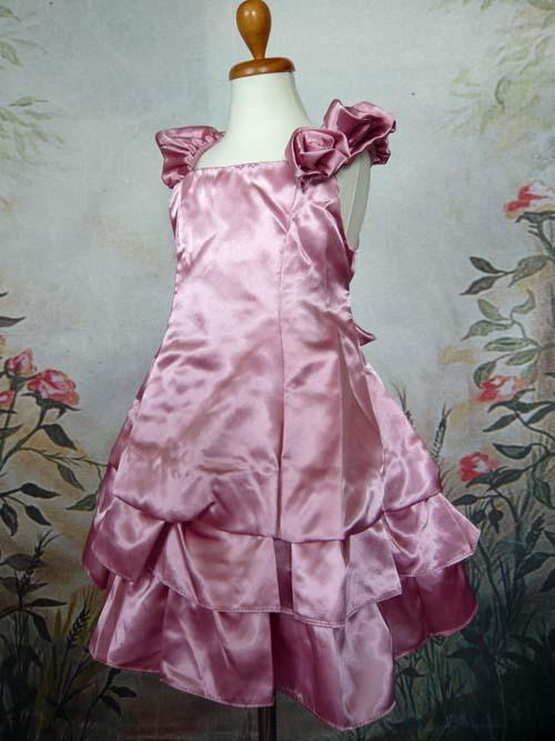 子供ドレス ベル ローズピンク