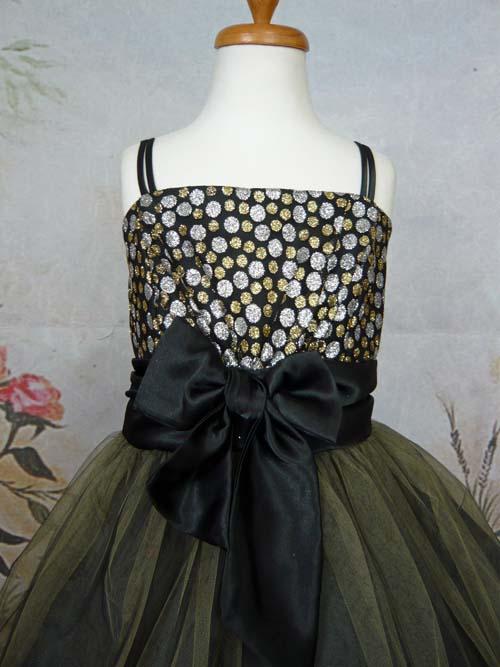 子供ドレス ジャスミン ブラック