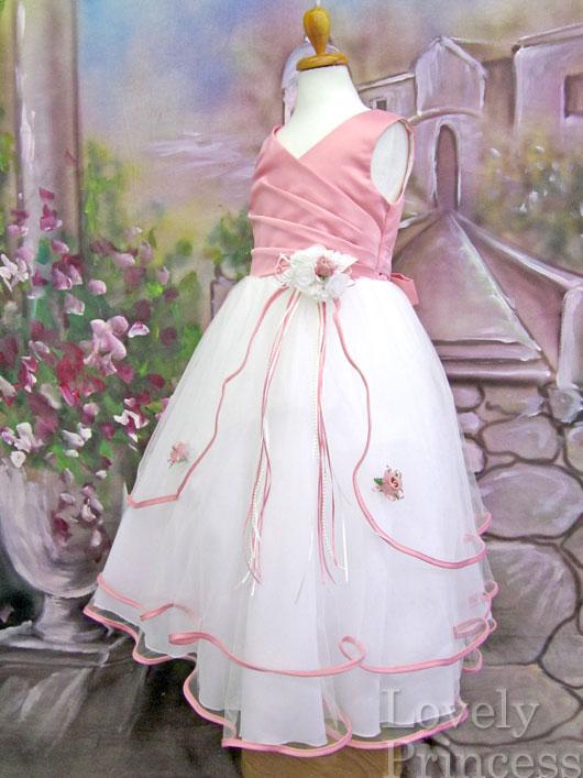 子供用ドレス エミリー ローズピンク