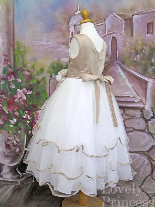 子供用ドレス エミリー シャンパン
