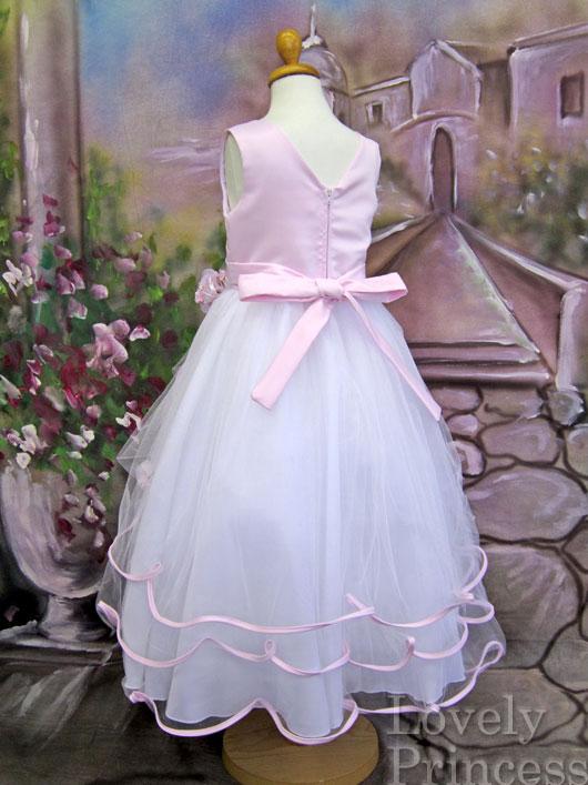 子供用ドレス エミリー ピンク