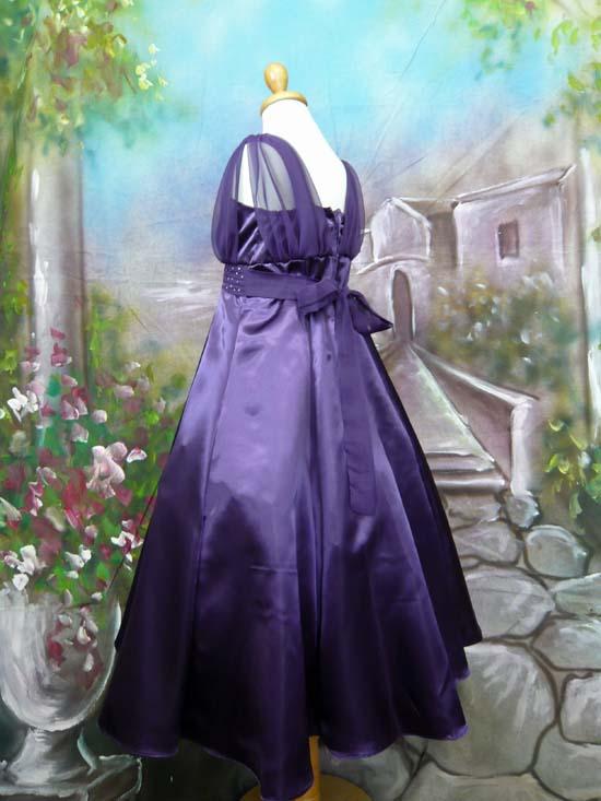 子供ドレス ロッシーニ パープル