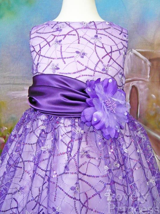 子供ドレス コレット パープル
