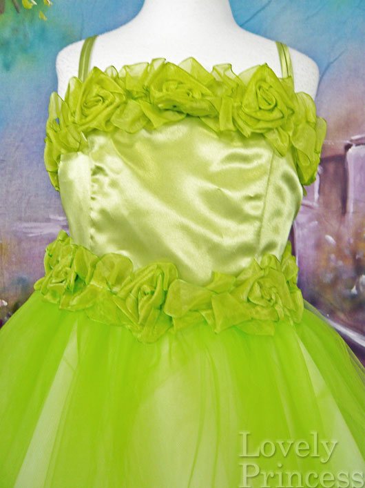 子供用ドレス クローディア ライム