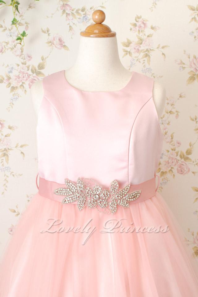 子供結婚式ドレス ユリア ブラッシュピンク