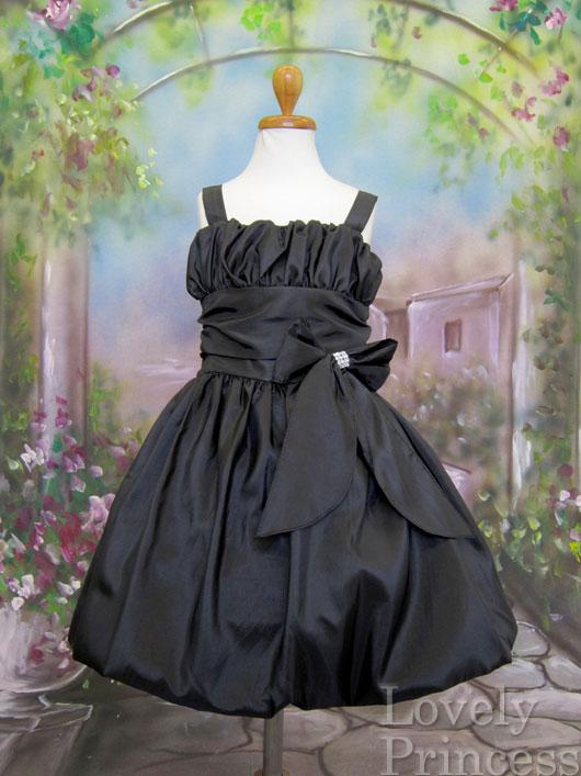 子供ドレス ルナ ブラック