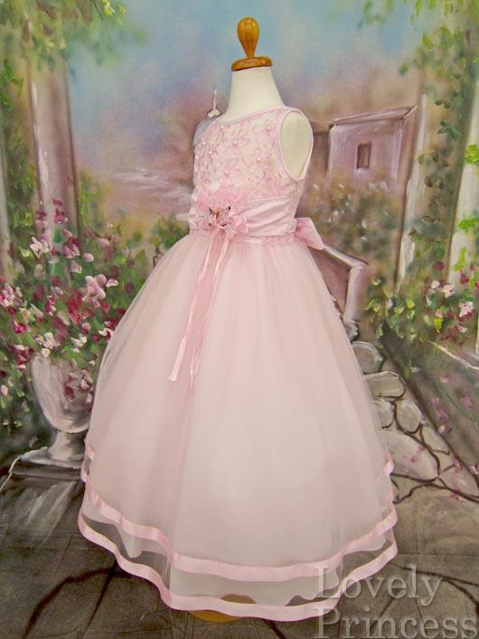 子供ドレス パステル ピンク