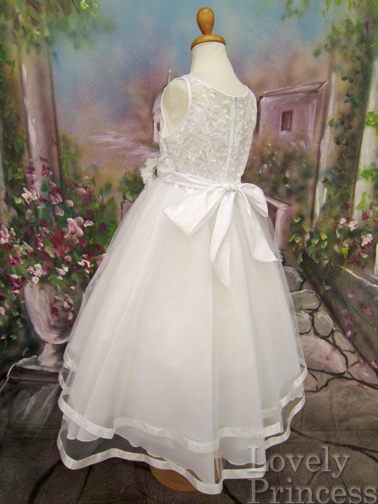 子供ドレス パステル ホワイト