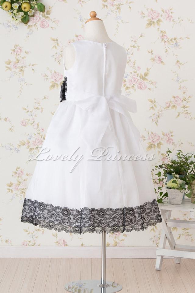 コンクール子供ドレス リンジー ホワイト