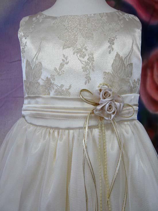 子供ドレス モニカ シャンパン