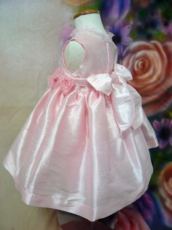 ベビードレス ベス ピンク