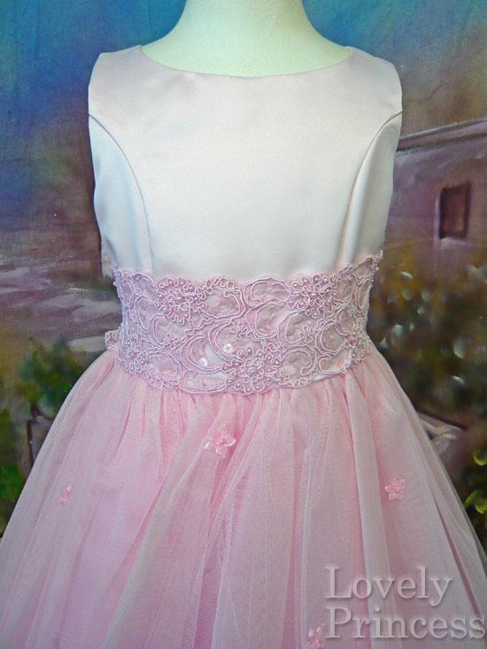 子供ドレス クララ ピンク