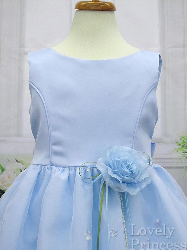 プリンセスドレス エンジェル ブルー