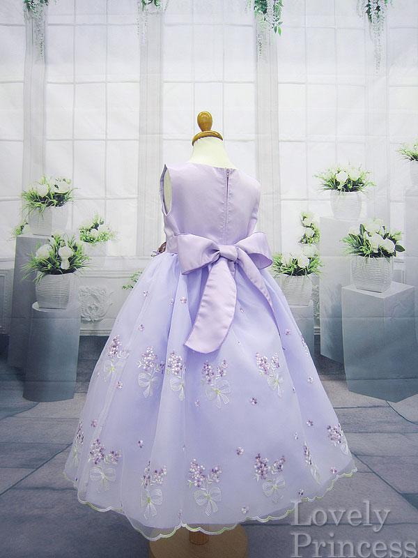 プリンセスドレス エンジェル ライラック