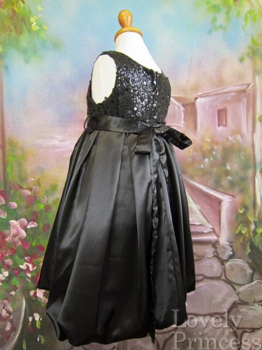 子供ドレス チェルシー ブラック