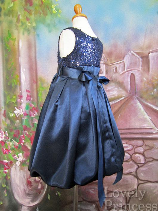 子供ドレス チェルシー ネイビー